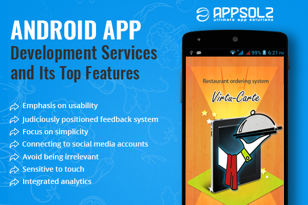 Android App Development Services and Its Top 9 Features